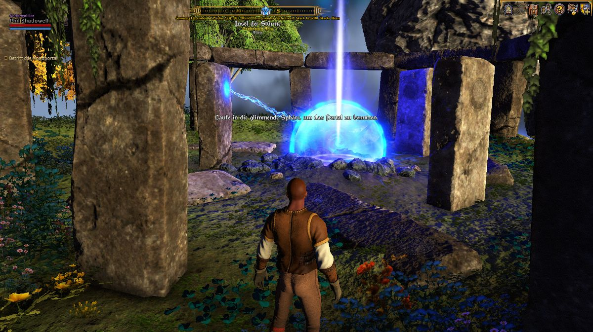 Portal Mondtor bzw. Moongate bei Shroud of the Avatar
