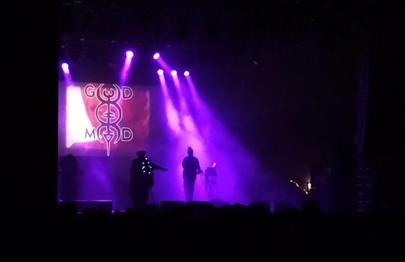 God Module beim Wave Gotik Treffen 2018 in der Agra-Halle
