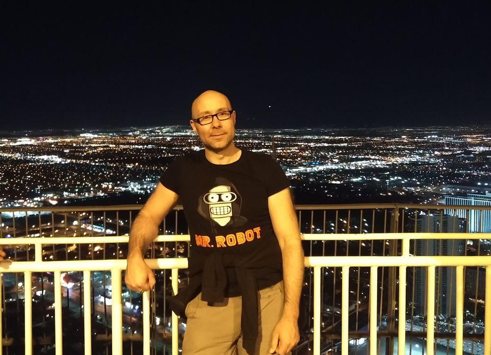 Auf dem Stratosphere Tower Las Vegas