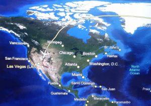 Flug nach Las Vegas (Flug von Frankfurt nach Las Vegas)