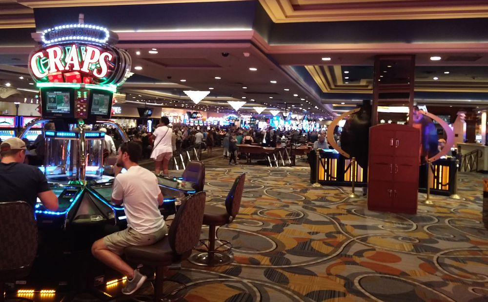 Im Kasino Bally's in Las Vegas