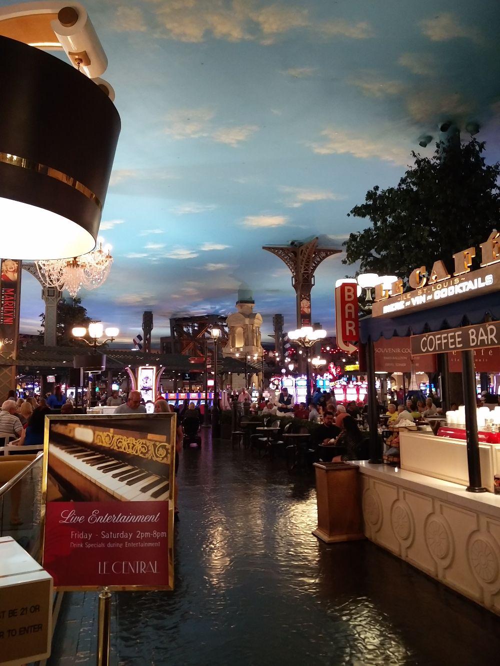 Himmel des Kasinos Paris in Las Vegas