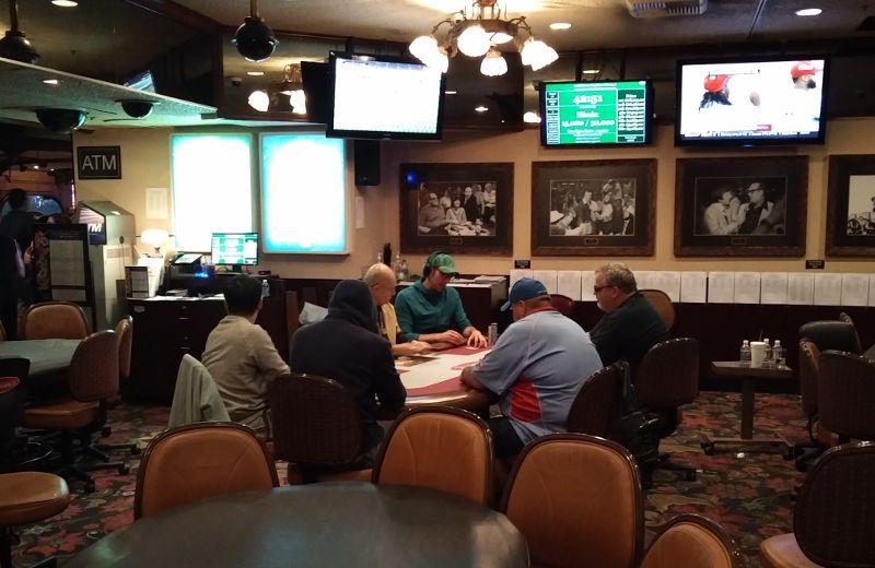 Pokern im Binions in Las Vegas