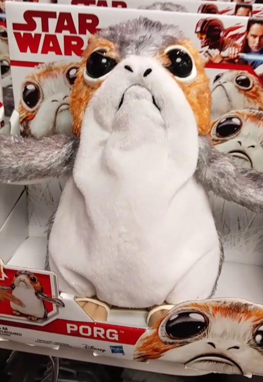 Porg von Star Wars im Disney Store Las Vegas