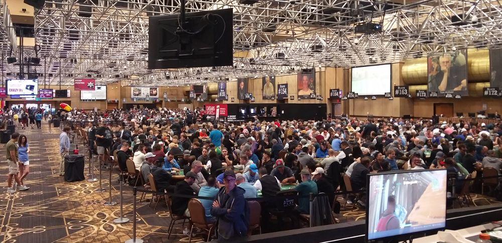 Großraum bei der World Series of Poker Las Vegas WSOP