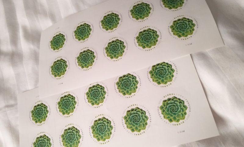 Briefmarken in Las Vegas
