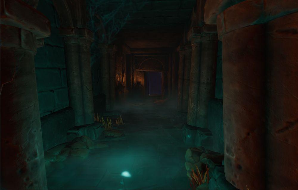 Gang mit Wasser in Underworld Ascendant