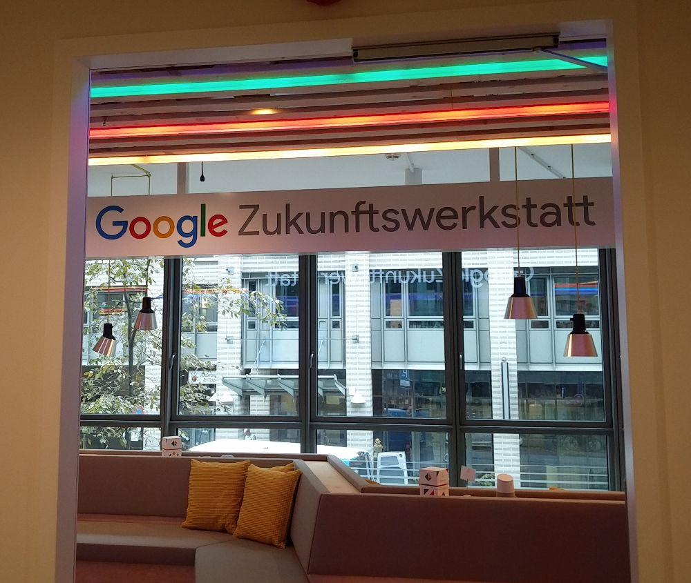Die Zukunftswerkstatt von Google in Hamburg