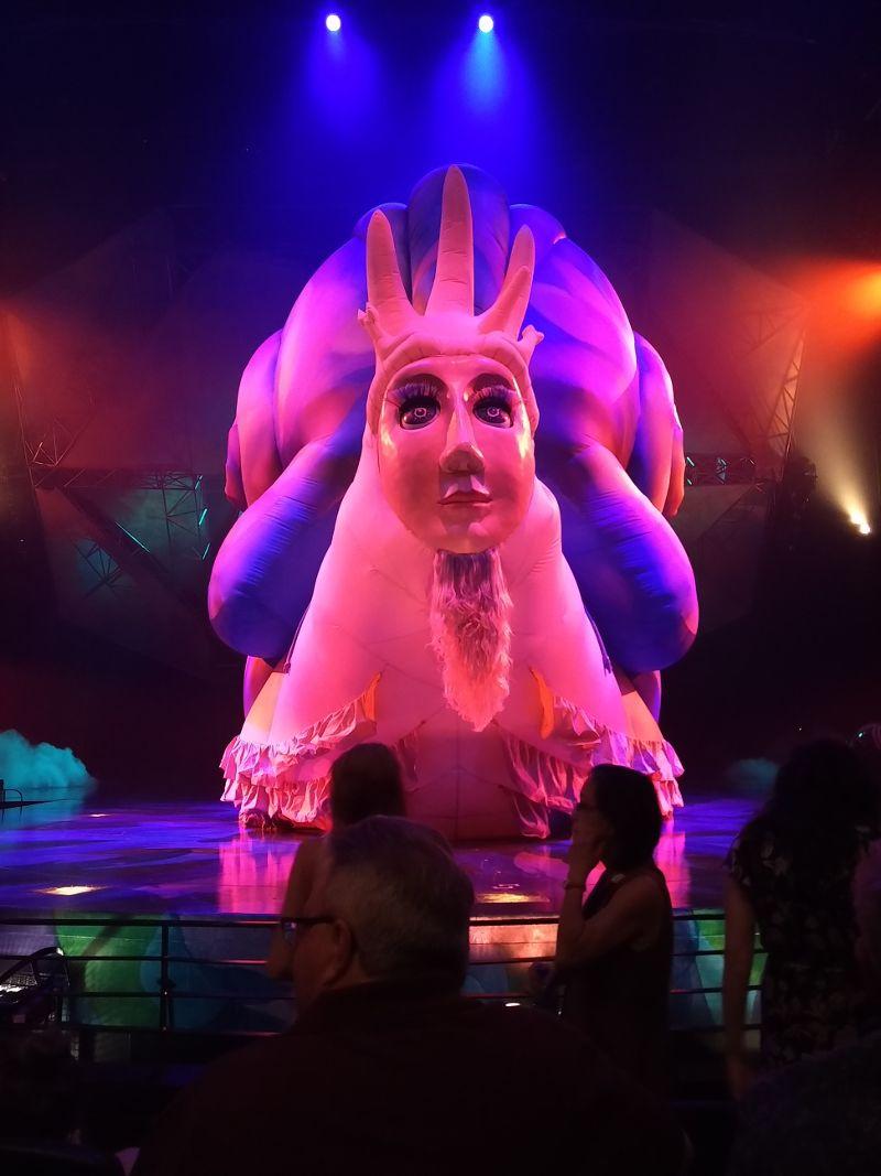 Cirque Du Soleil Las Vegas Schnecken-Wesen